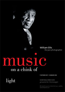 poster William Ellis - Music on a chicnk of light